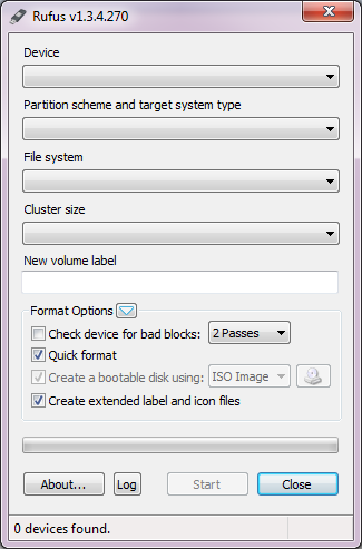 Membuat Media Instalasi USB Bootable Dengan Rufus